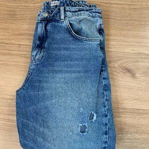 High Waisted Mom jeans Denim Co.
